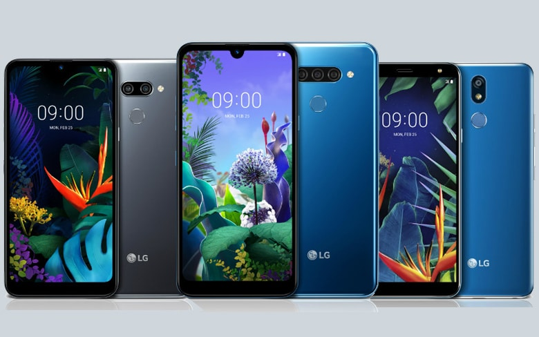 LG Q and K Series Smartphones