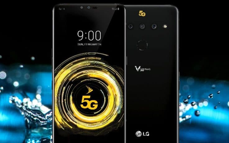 LG V50 ThinQ Smartphone with 5G