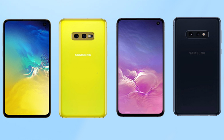 Samsung Galaxy S10e Yellow