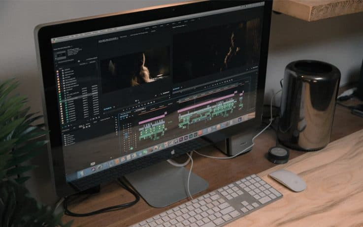 Video Editing Software Showing On Mac