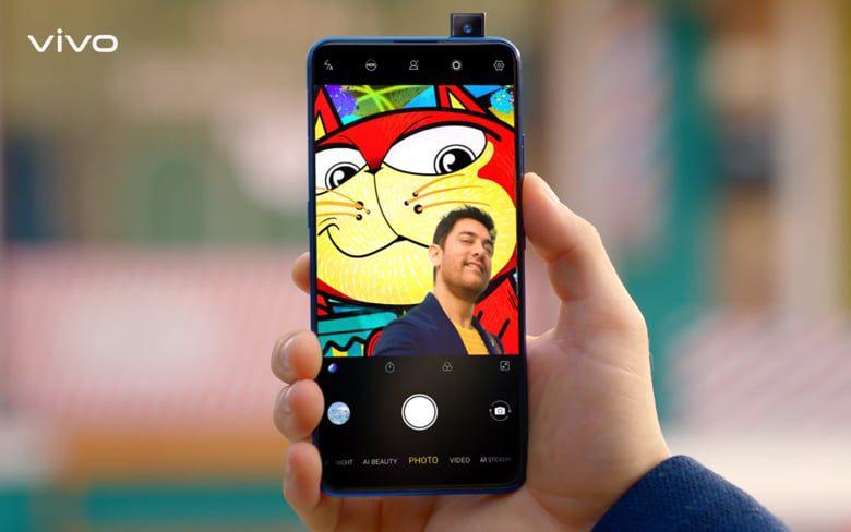 Vivo V15 Pro Showing Pop up Selfie Camera