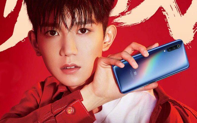 Man Holding Xiaomi Mi 9 Smartphone