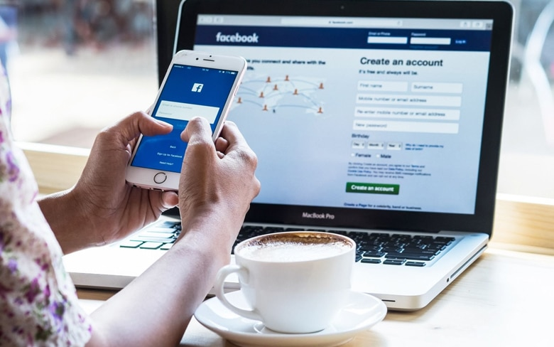 Pay With Facebook Optioin