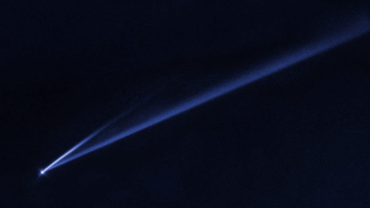Hubble Telescope Spots Asteroid