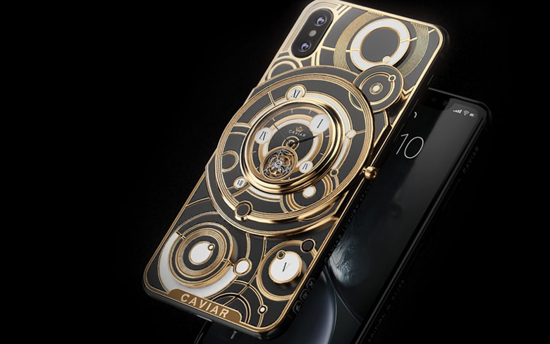 iPhone 11 with Mechanical Watch