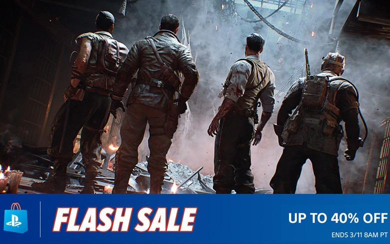 PS Store Flash Sale