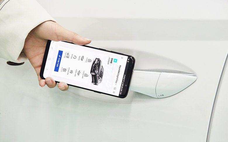 Smartphone Based Digital Key