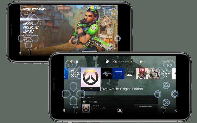 Sony PS4 Remote Play App