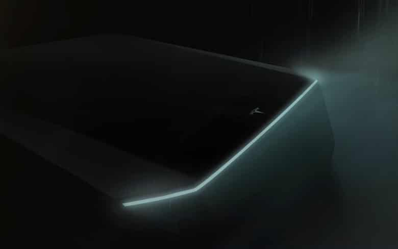 Tesla Cyberpunk Electric Truck