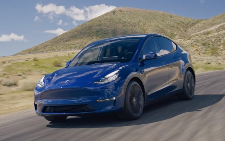 Tesla Model Y Electric Vehicle