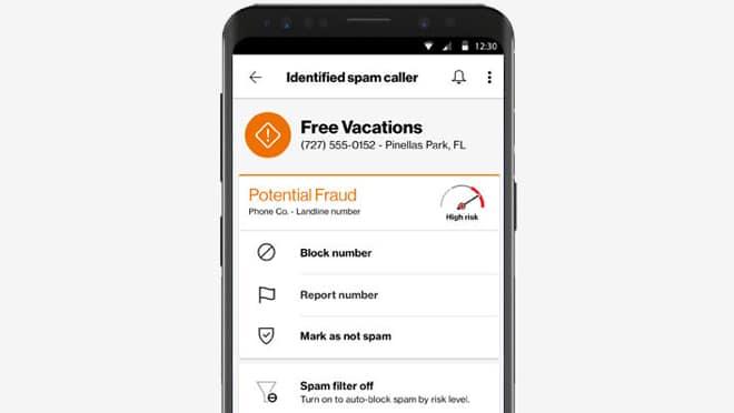 Verizon Spam Caller Detector