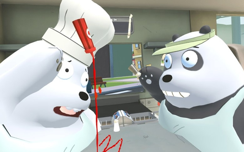 We Bare Bears VR Game