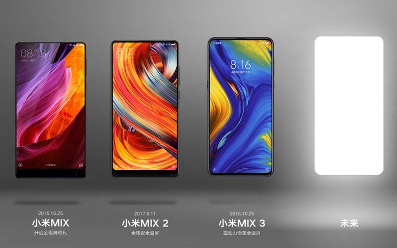 Xiaomi Mi Mix Smartphones