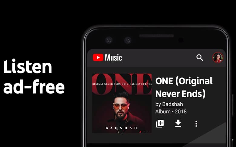 YouTube Music App in India