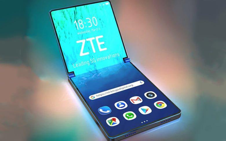 ZTE Folding Phone Renders