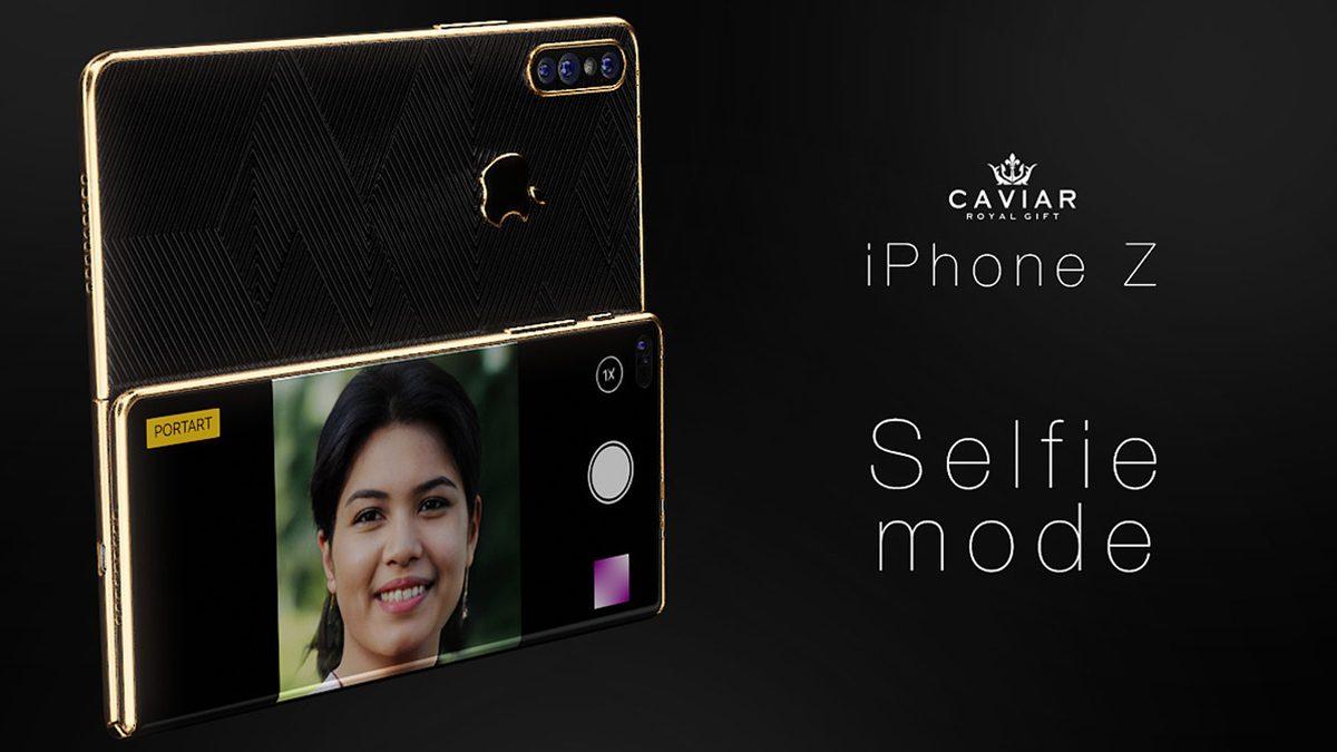 Caviar Foldable iPhone Z