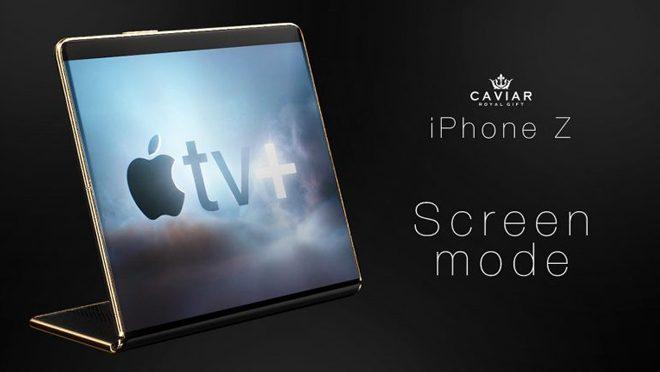 iPhone Z Screen Mode
