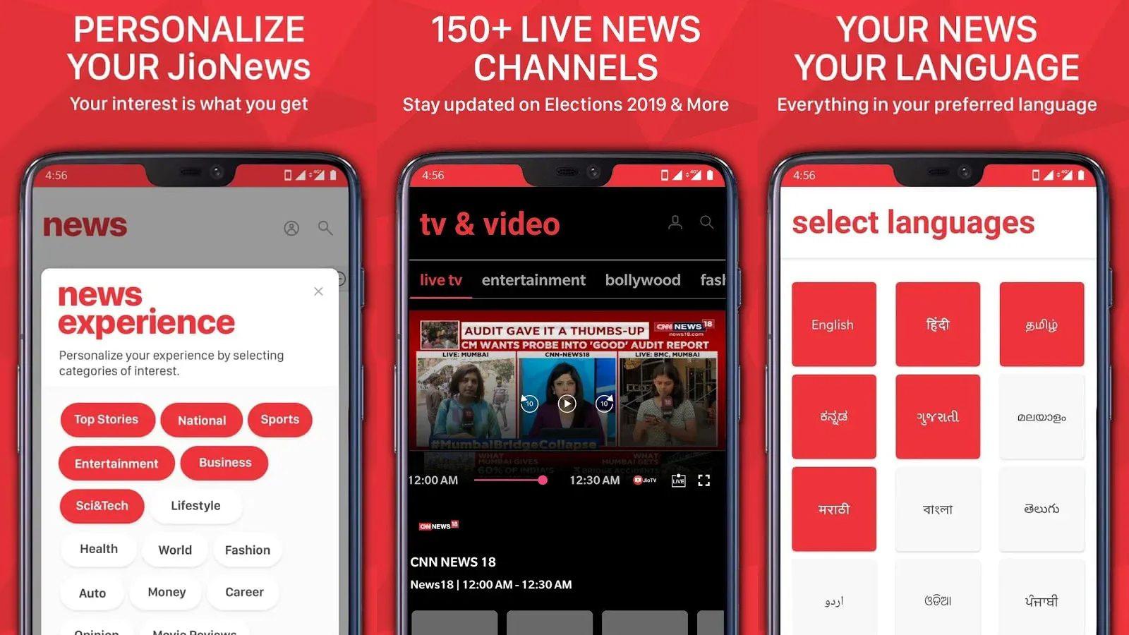 Jio News App