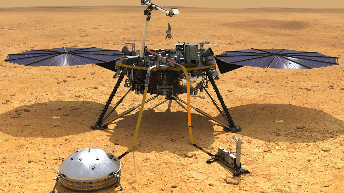 NASA Mars InSight Lander Marsquake