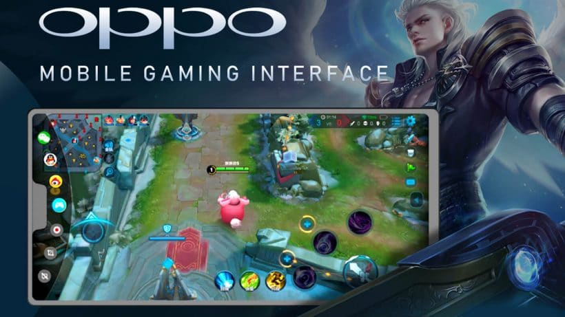 Oppo Mobile Gaming Interface