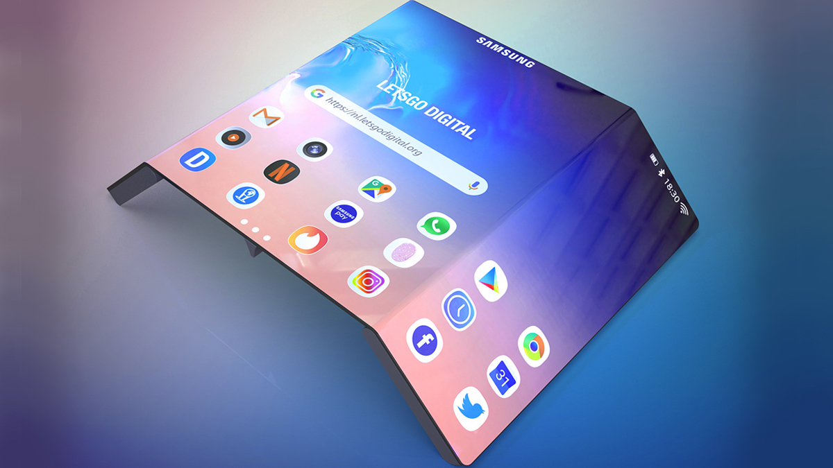 Samsung Galaxy Fold 2 Foldable Phone