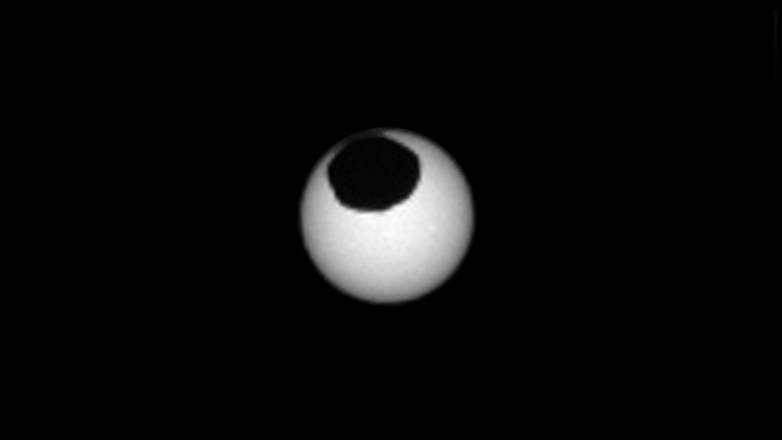 NASA's Curiosity rover captured a strange sight of two solar eclipses on Mars