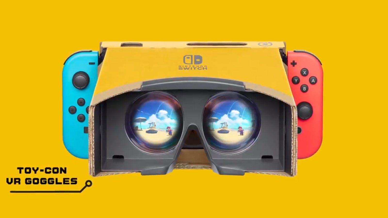 Toy Con VR Goggles