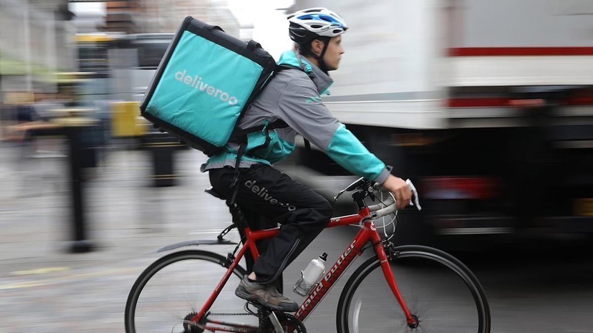 Deliveroo Food Courier