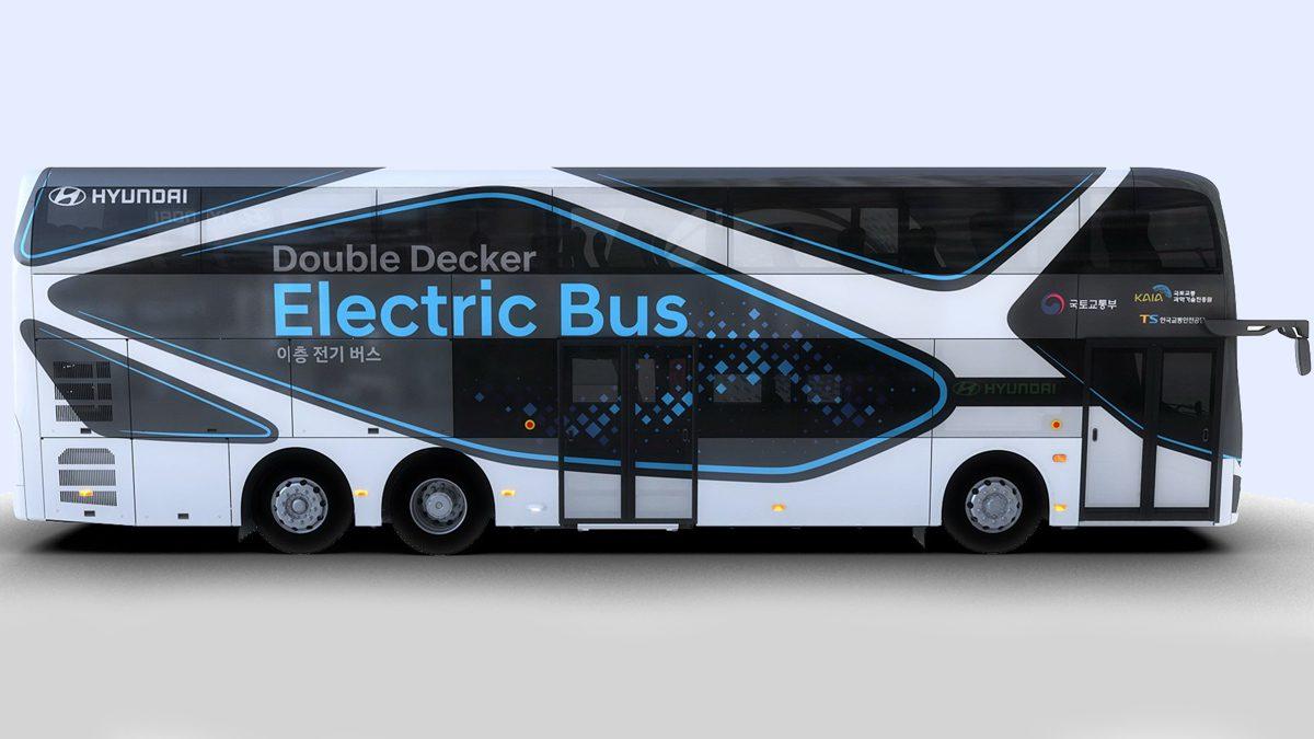 Hyudai Double Decker Bus