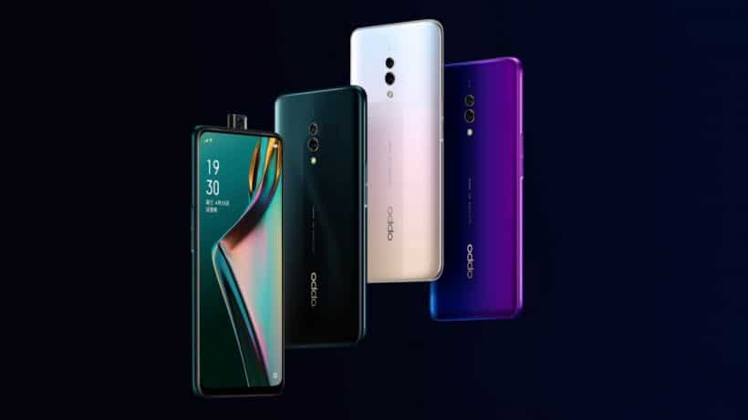 OPPO K3 with pop-up selfie camera launches in China starting at