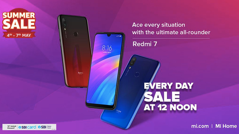Redmi India Summer Sale