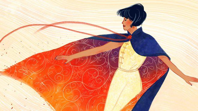 Adobe Dancing Girl Drawing