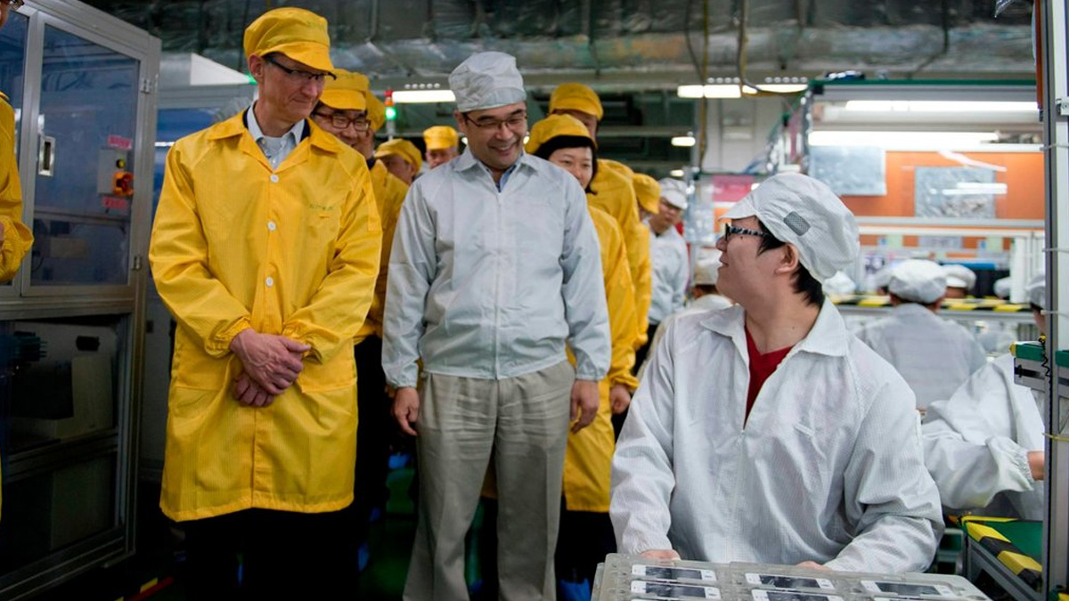 Apple Production in China