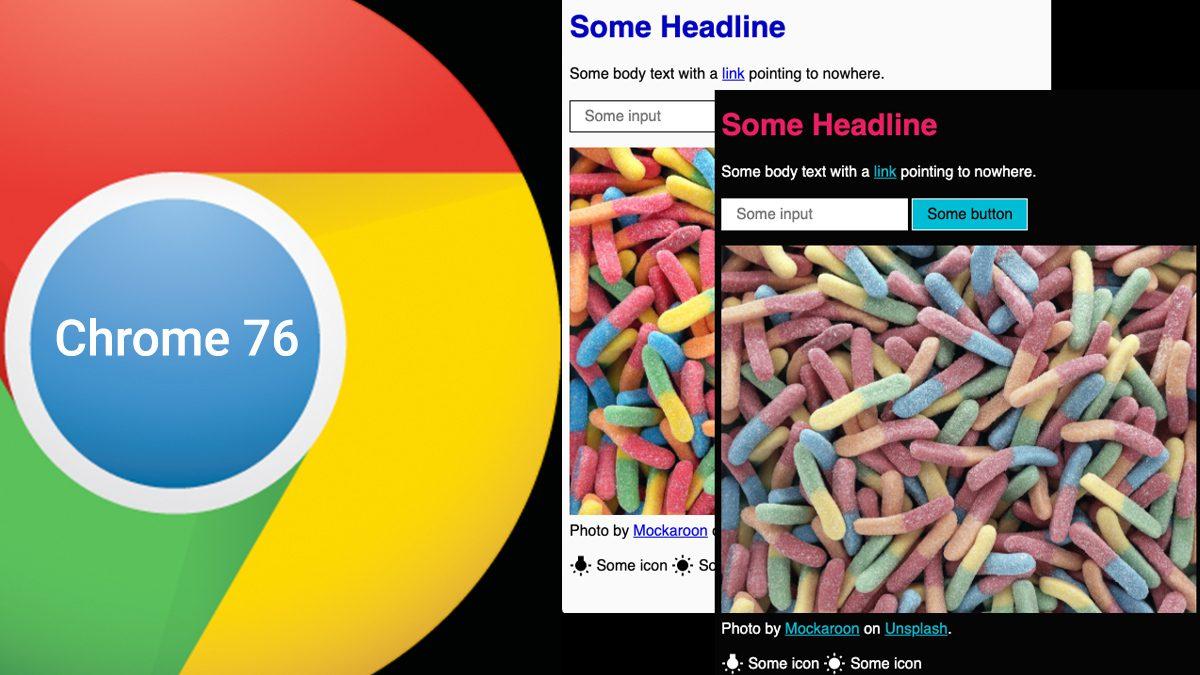 Google Chrome 76 Beta Version
