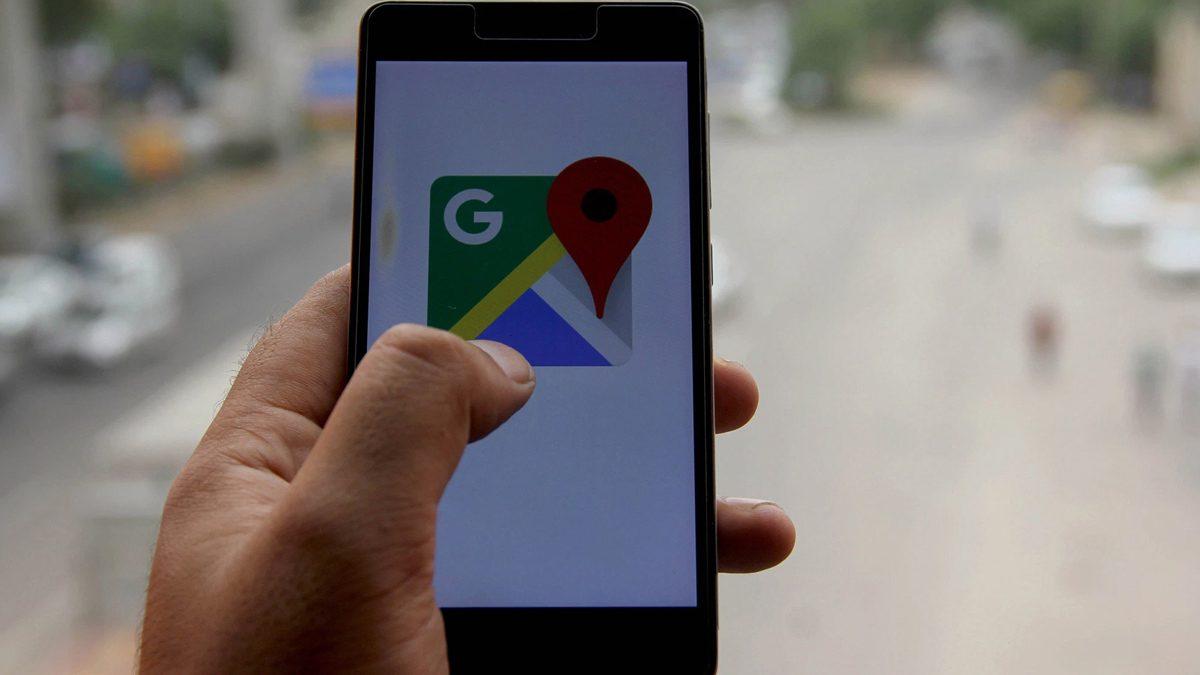 Google Maps New Alert