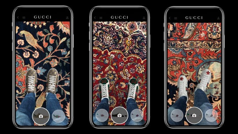 Gucci-Augmented-Reality