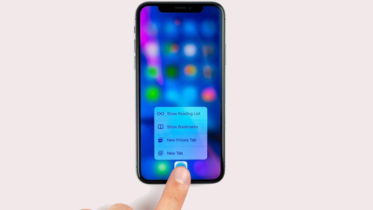 iOS13 3D Touch