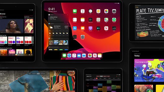 iPad OS Dark Mode