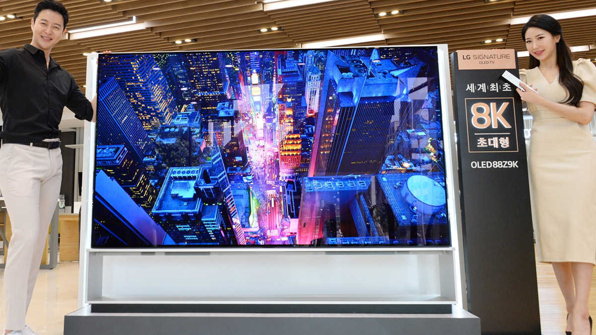 LG 8K OLED TV