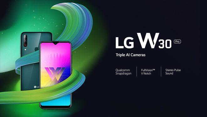 LG W30 Pro Triple AI Cameras