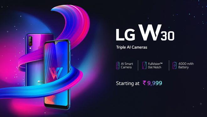 LG W30 Smartphone Specs