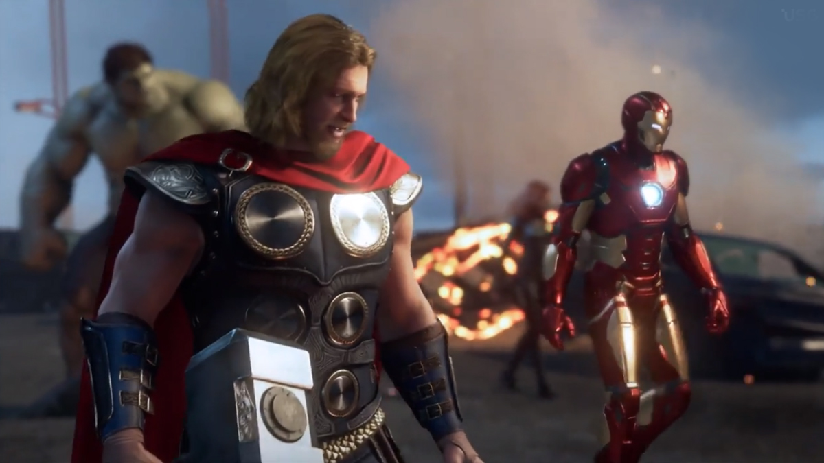 Marvel Avenger Game