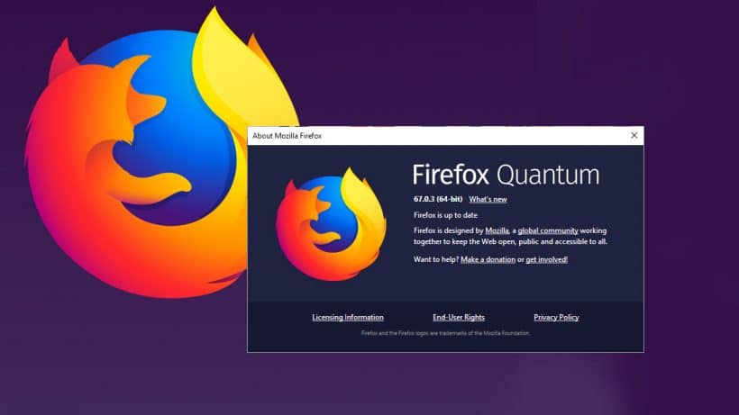 Mozilla Firefox 67 0 3 released - update to the Firefox and