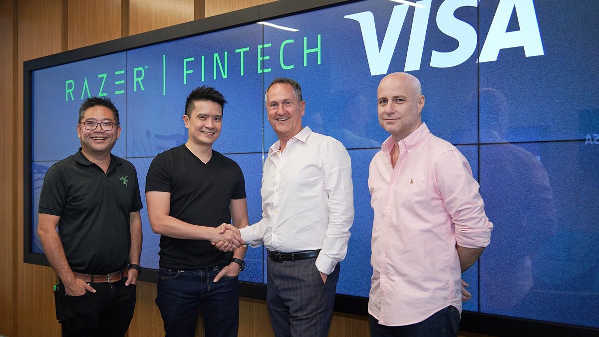 Razer Pay Partnership with Visa
