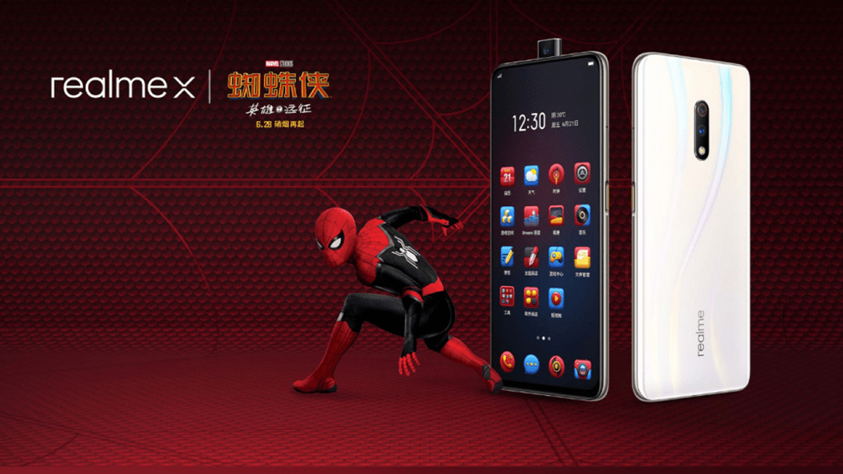 Realme X Spider-Man Phone