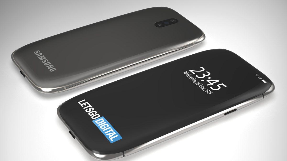 Samsung Galaxy 3D Curved Display
