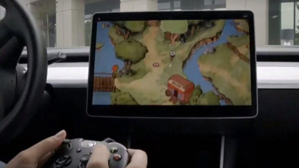 Tesla Car Video Game