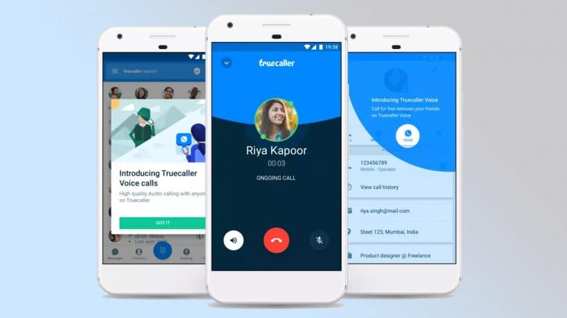 Truecaller Voice Audio Call