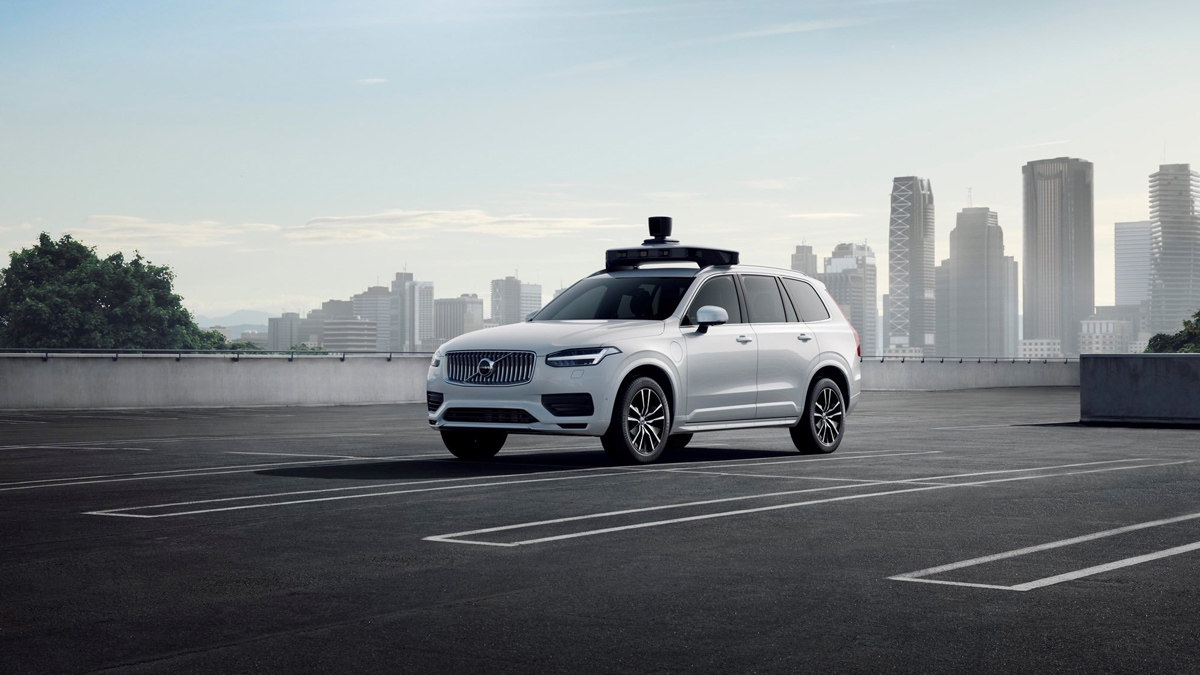 Uber and Volvo Self Driving Car