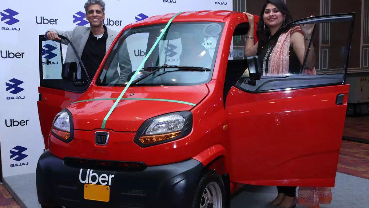 UberXS Bajaj Qute Car